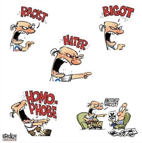 democrats today racist hater homophobe inkblot test