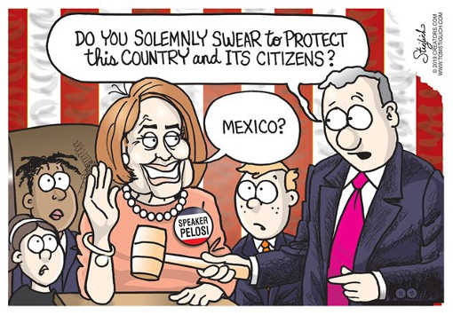 do you solemnly swear to protect citizens of mexica nancy pelosi