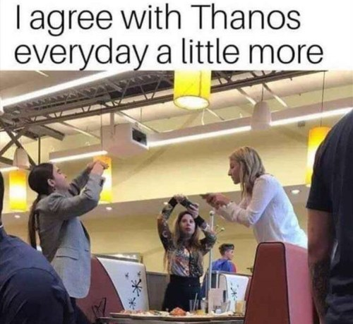 i agree with thanos more every day people photographing meals