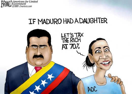 if maduro had a daughter venezuela ocasio cortez