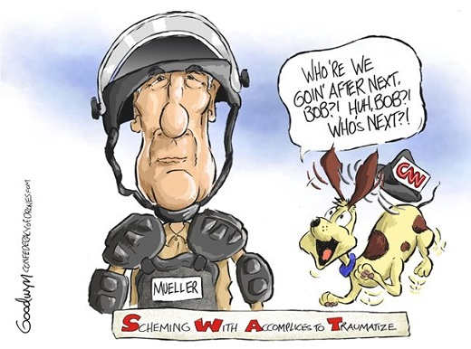 mueller who are we going after next dog cnn swat scheming with accomplices to traumatize