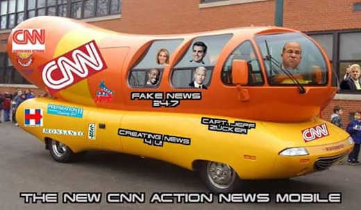 new cnn fake news action news mobile anderson cooper dnc hillary stickers captain jeff zucker