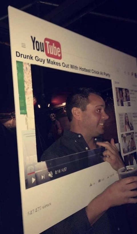 youtube costume drunk makes out with hottest girl at party