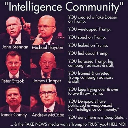 deep state lied about trump investigation fake news media wants him to trust you