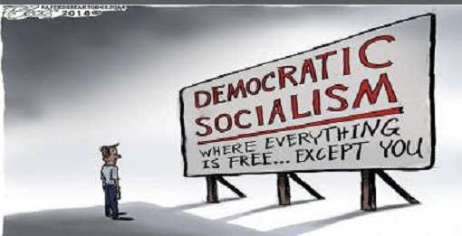 democratic socialism where everything is free except you