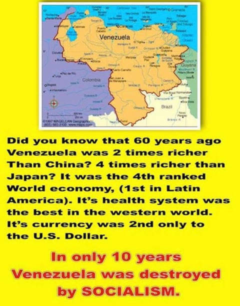 did you know facts about venezuela before socialism
