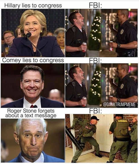 hillary comey lie to congress cops laugh stone forgets email storm with swat team