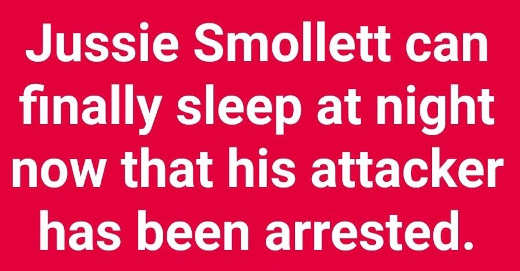 jussie smollett can finally sleep at night now that his attacker has been arrested