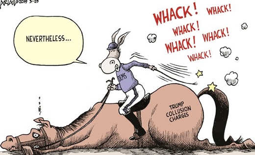 dead horse russian collusion democrats