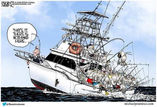 mueller done fishing russian collusion democrats all still