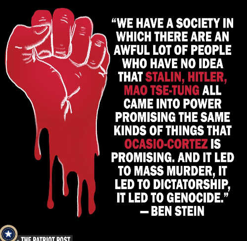 we have society where people dont know about mao stalin socialism ben stein