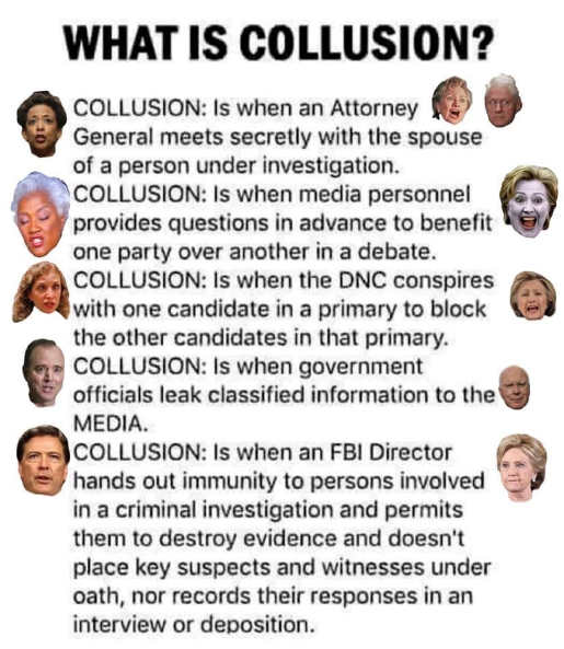 what is collusion lynch clinton obama brazille media