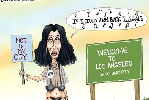 cher if i could turn back illegals not in my sanctuary city
