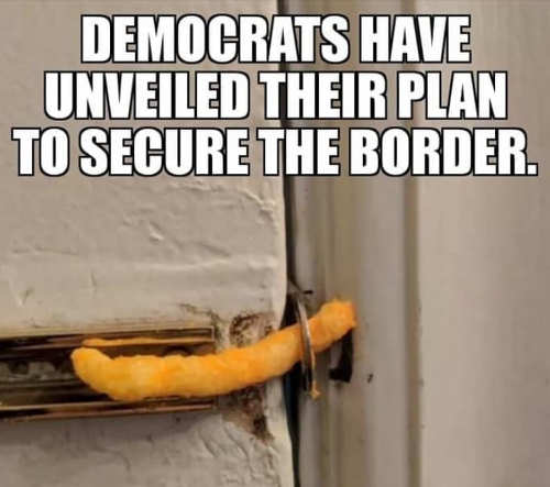 democrats unveiled their plan for border security cheeto door lock