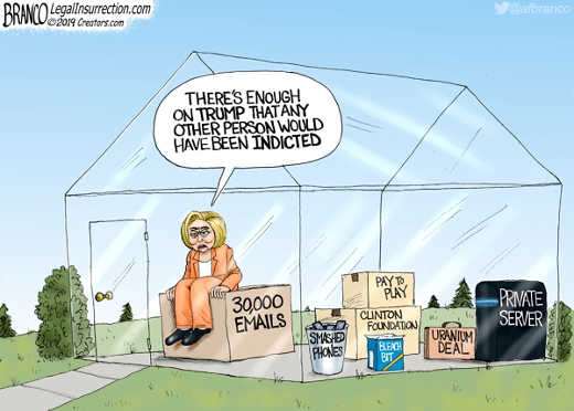 hillary clinton enough on trump glass house emails clinton foundation