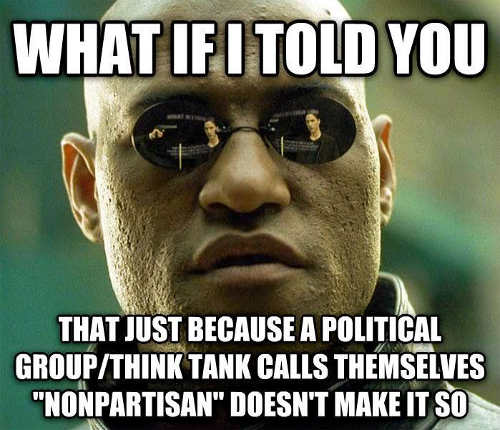 matrix what if i told you saying non partisan doesnt make it so
