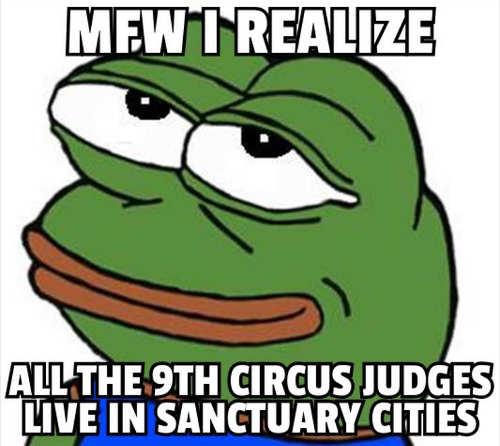mfw i realize 9th circuit judges live sanctuary cities