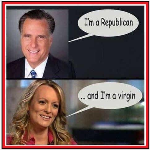 mitt romney im a republican stormy danields im a virgin