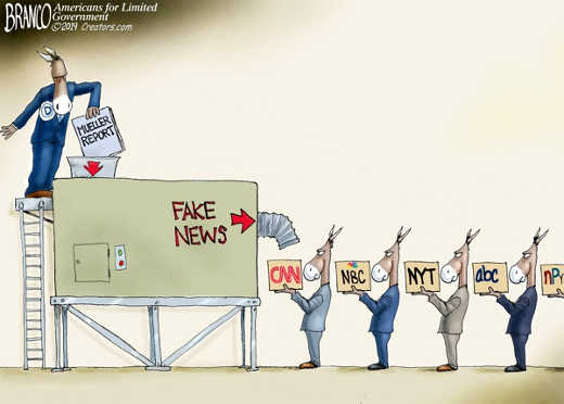 mueller report machine fake news cnn nyt nbc abc post abc