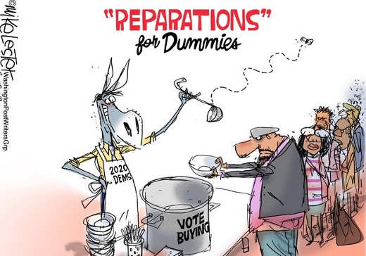 reparations for votes soup line democrats