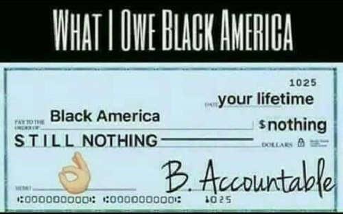 what i owe black america check be accountable