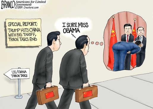 china i sure miss obama trade bowing