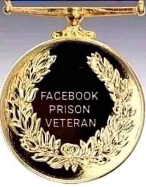 facebook prison veteran medal