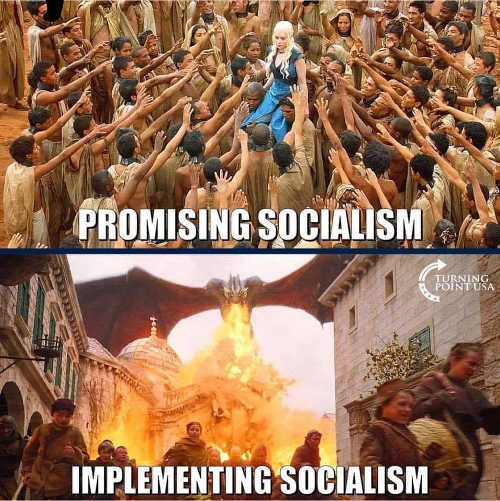 promising socialism implementing game of thrones