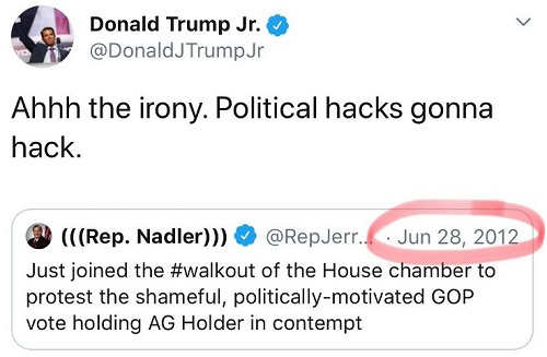 tweet nadler walkout 2012 protesting holder held in contempt