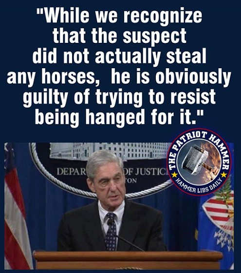 mueller while we recognize suspect didnt actually steal anything he is guilty of trying to resist being hanged for it