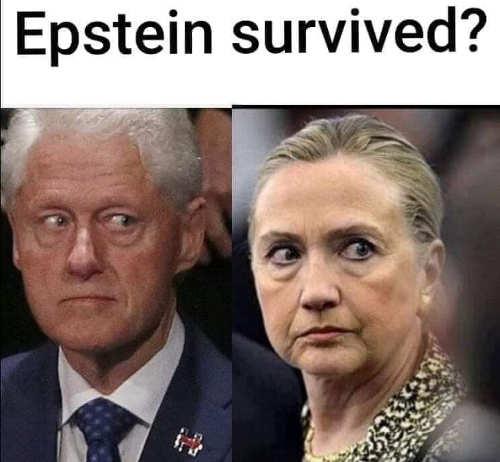 hillary bill clinton epstein survived