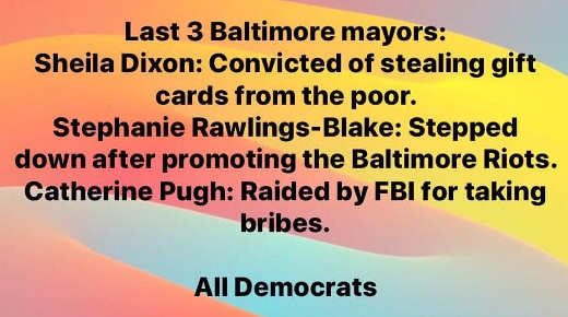last 3 democratic mayors all convicted corrupted dixon rawlings pugh
