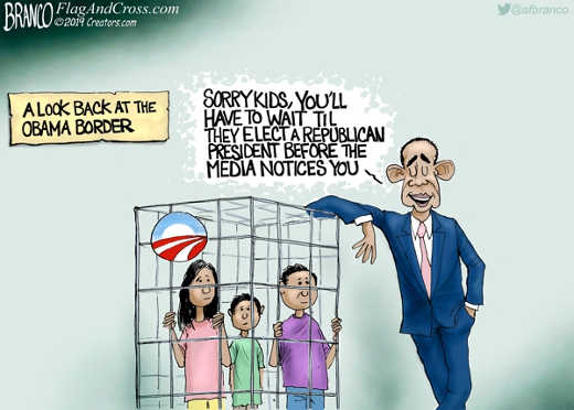 obama kids in cages sorry keys youll have to wait until next election before media notices