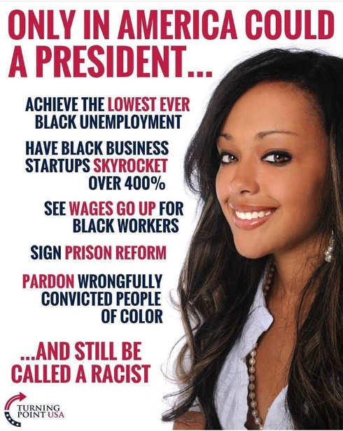only in america president lowest black unemployment prison reform pardons still considered racist