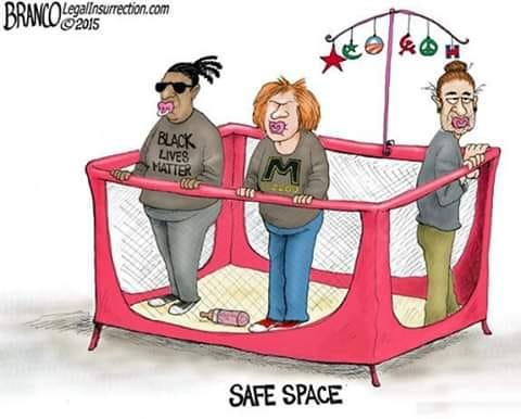 safe space black lives matter socialists college students