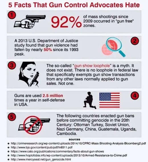 5 inconvenient facts gun control advocates hate
