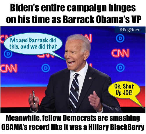 bidens entire campaign barack obama vp