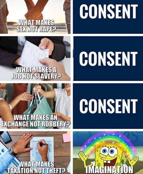consent on sex job robbery taxation imagination