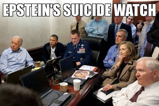 epstein suicide watch biden hillary obama general
