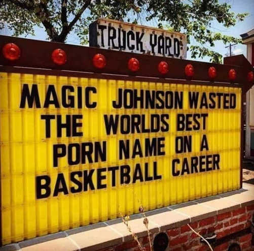 magic johnson wasted worlds best porn name on basketball career