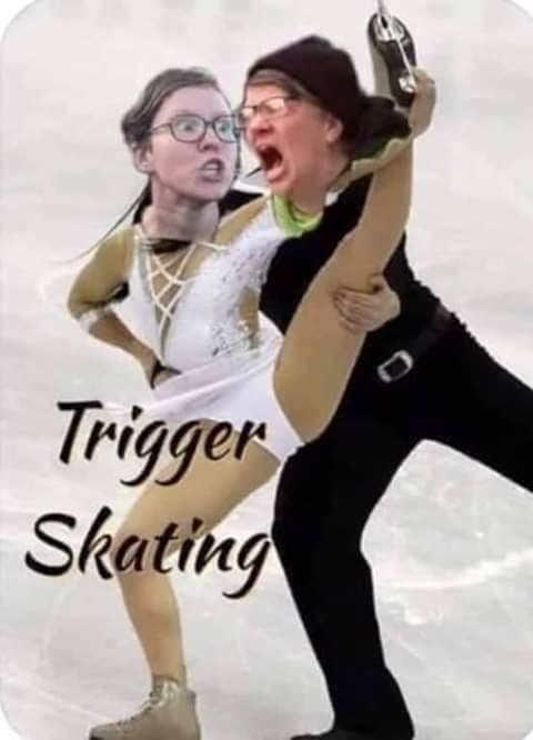 trigger skating liberals
