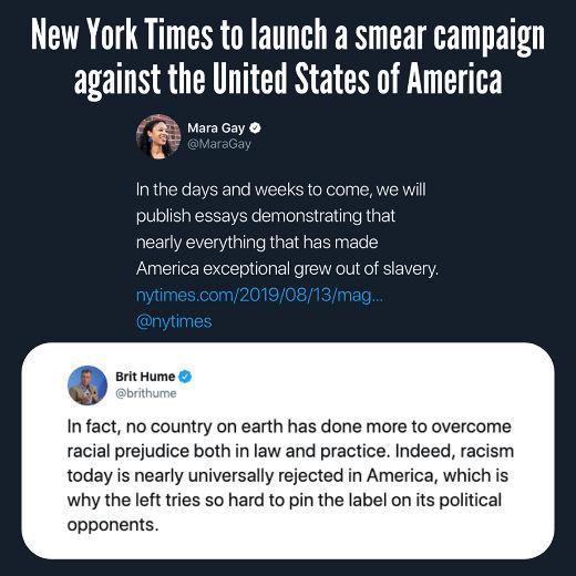 tweet new york times mara gray brit hume response racism