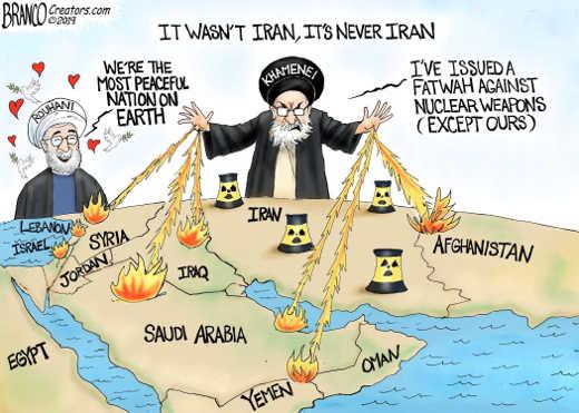 iran spreading terrorism around world