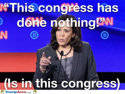 kamala harris this congress has done nothing is in this congress