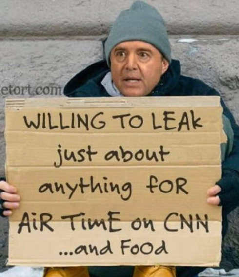 adam schiff willing to leak anything for airtime on cnn sign