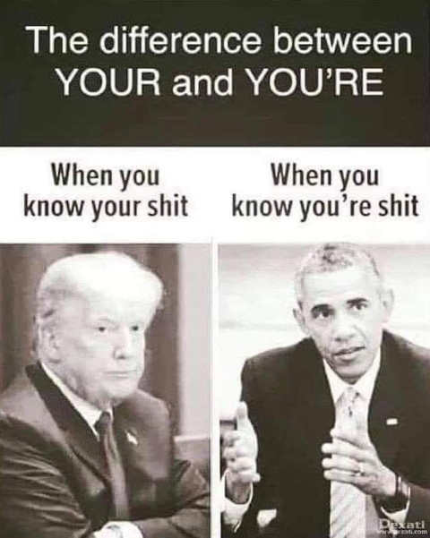 difference between youre obama trump
