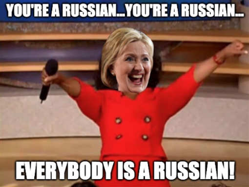 hillary youre a russian everybody is a russian oprah
