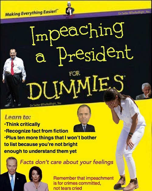 impeaching a president for dummies nadler schiff aoc think critically recognize fact from fiction
