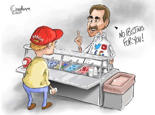 maga hat guy no posts for you soup nazi