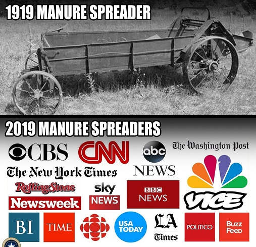 1919 vs 2019 manure spreaders cann msnbc nyt post abc vice newsweek